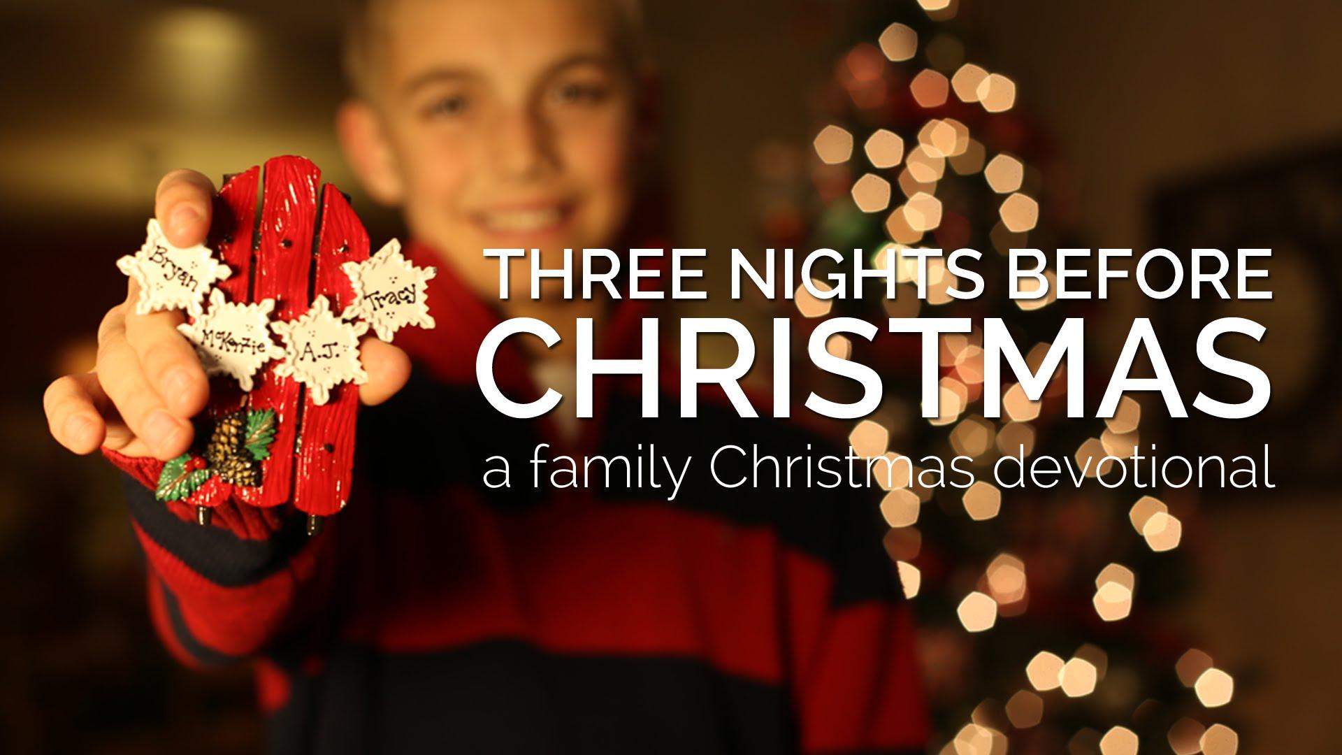 Family Christmas Devotional Pursuegod Kids